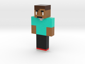 IllegalDuckee   Minecraft toy in Natural Full Color Sandstone
