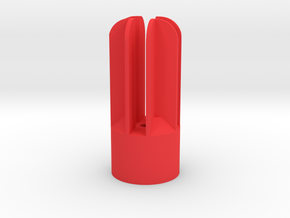 Prism P7 - The Bullet (PART) in Red Processed Versatile Plastic