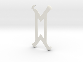 iphone 6s Minimalist Case in White Natural Versatile Plastic