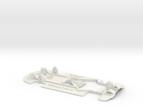 CHASIS RS01 SCALEXTRIC in White Natural Versatile Plastic