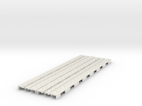 p-65stw-straight-tram-long-1332-100-w-1a in White Natural Versatile Plastic