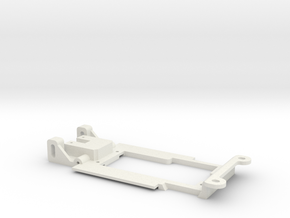 Carrera Universal Chassis for 132 E21 320 in White Natural Versatile Plastic