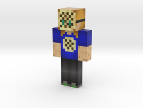Crumpet Final Version | Minecraft toy in Natural Full Color Sandstone