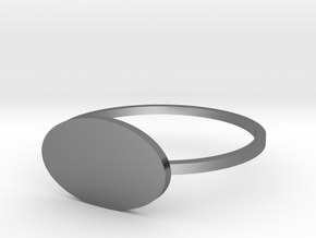 Ellipse 19.84mm in Polished Silver