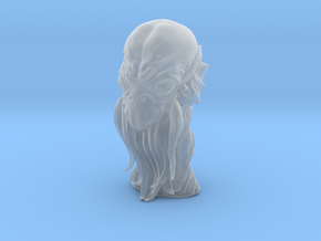 Cthulhu Head Bust in Smooth Fine Detail Plastic