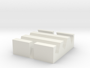 phone stand in White Natural Versatile Plastic: Small