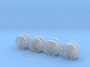 HO Scale Reading T1 Driver Wheel Cores in Smoothest Fine Detail Plastic