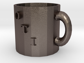 modeling mug in Polished Bronzed-Silver Steel: Medium