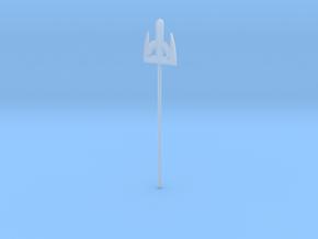 Trident stirrer in Smooth Fine Detail Plastic: Medium