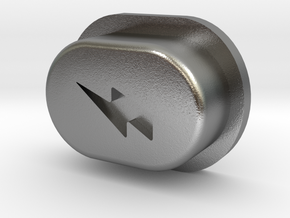 Y_mod_S Engraved Button Only in Natural Silver