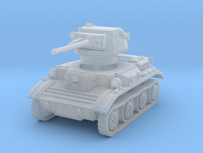 Tetrarch tank scale 1/87 in Smooth Fine Detail Plastic