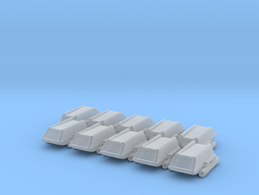 Shuttle Class-F 1/1000 x10 in Smooth Fine Detail Plastic