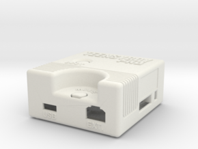 Teensyboy Pro Case (Version 1.0) in White Natural Versatile Plastic