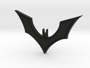 Batman Keychain in Black Premium Versatile Plastic