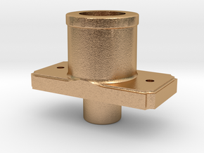 AC09 - FR Sprung Buffer body, Banded (SM32) in Natural Bronze