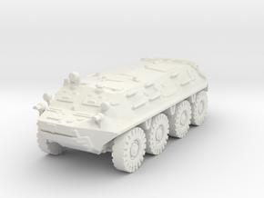 BTR 60 scale 1/100 in White Natural Versatile Plastic