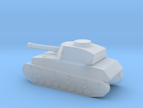 Panzer IV in Smooth Fine Detail Plastic