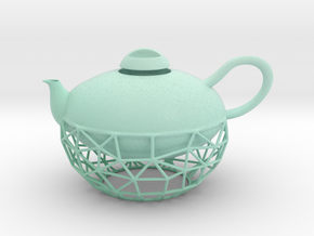 Decorative Teapot in Matte Full Color Sandstone