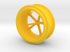 Zwillingsreifen MB Trac in Yellow Processed Versatile Plastic