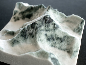 Mt. Everest, China/Nepal, 1:100000 in Natural Full Color Sandstone