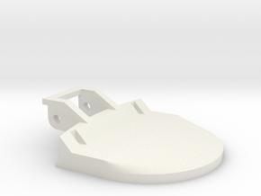 Door handle replacement for Zanussi FLS872C in White Natural Versatile Plastic