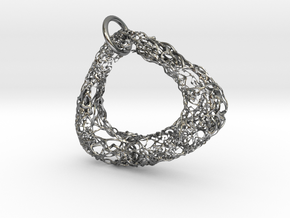 pendant in Polished Silver