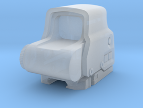 1/6th EOT_EXPS3 holo sight (10% oversized) in Smoothest Fine Detail Plastic