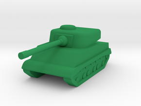 M4 Sherman 1I300 in Green Processed Versatile Plastic