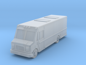 Laundry service 22ft stepvan in Smoothest Fine Detail Plastic: 6mm