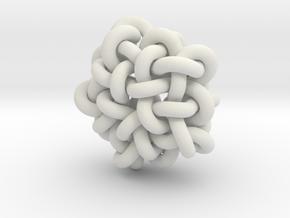 B&G Knot 10 in White Natural Versatile Plastic