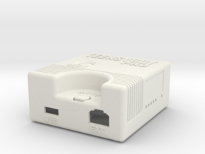 Teensyboy Pro Case (Version 2.0) in White Natural Versatile Plastic