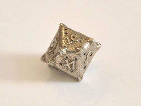 D10 Balanced - Constellations in Polished Bronzed-Silver Steel