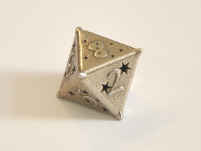 D8 Balanced - Constellations in Polished Bronzed-Silver Steel
