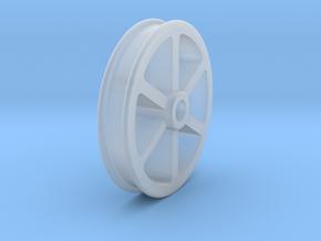 NRW01a Nantlle Railway Wagon Wheel, Single 16mm in Smooth Fine Detail Plastic