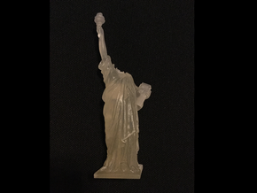 Cloverfield Statue of Liberty  in Smoothest Fine Detail Plastic