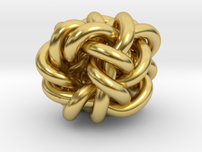 B&G Knot 019 in Polished Brass