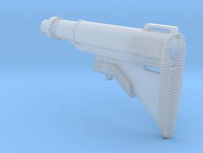 1/6th XM177 style stock in Smooth Fine Detail Plastic