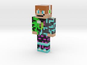 you tube skin (ultimate verison)   Minecraft toy in Natural Full Color Sandstone