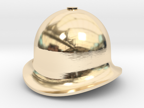 QH Quarry Hunslet Velinheli Dome, SM32 in 14k Gold Plated Brass