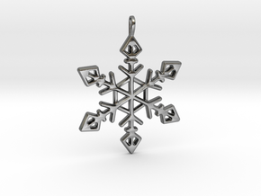 Winter Wonderland Pendant in Polished Silver