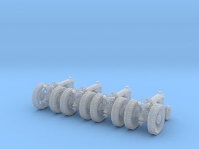 Farm Tractor Z scale in Smooth Fine Detail Plastic