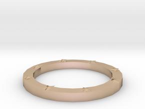 Lucky bracelet in 14k Rose Gold