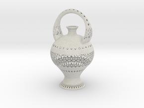 Vase 1427Bj in Natural Full Color Sandstone