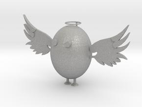 Angel Egg in Aluminum