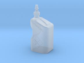 1Tenth Gasoline Tuf Jug in Smooth Fine Detail Plastic