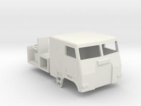 1/64 Freightliner Cabover  in White Natural Versatile Plastic