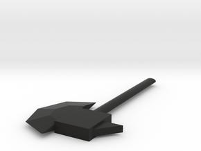 Ax in Black Premium Versatile Plastic