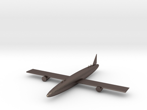 airplane Chopstick holder in Polished Bronzed-Silver Steel