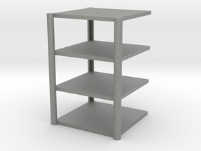 Locker Rack in Gray Professional Plastic