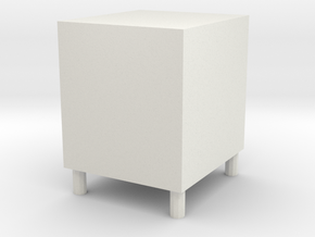 Low cabinet in White Natural Versatile Plastic